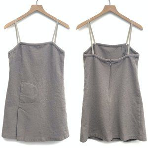 Anthropologie Grey Felt Tunic Top - No Size